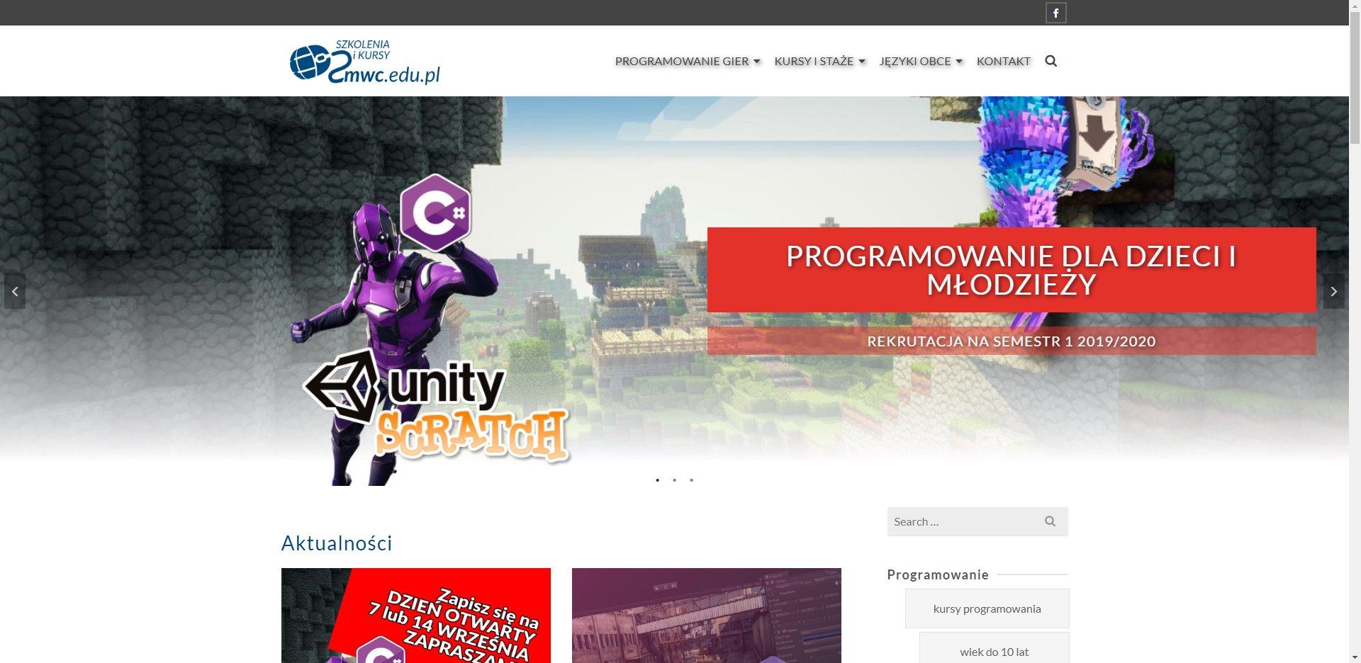 Kursy programowania Częstochowa dzieci młodzież